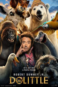 dolittle movie cover