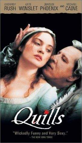 The infamous writer, The Marquis de Sade of 18th Century France, is imprisoned for unmentionable activities at Charanton Insane Asylum. He manages to befriend the young Abbe de Coulmier, who runs the asylum, along with a beautiful laundress named Madeline.