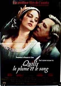 Quills Movie in Full HD With Subtitles, A nobleman with a literary flair, the Marquis de Sade lives in a madhouse where a beautiful laundry maid smuggles his erotic stories to a printer, defying orders from the asylum's resident priest. The titillating passages whip all of France into a se.