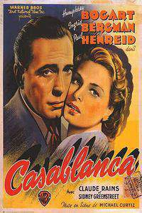 casablanca movie cover