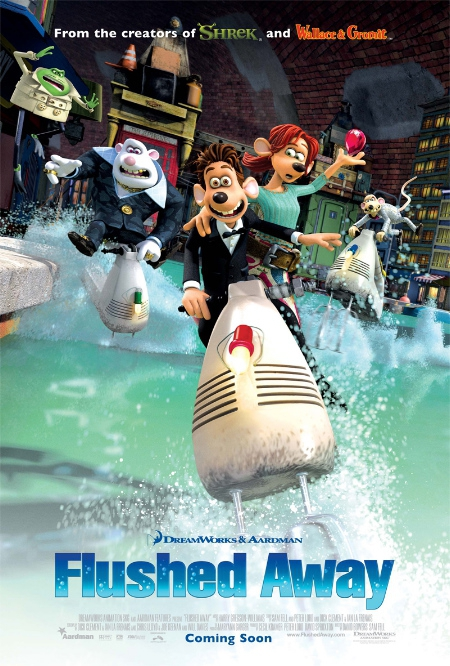 Download Flushed Away movie in DVD, HD and DivX quality from Movieberry.com.